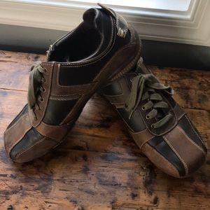 Aldo Mens Leather Bowling Shoes